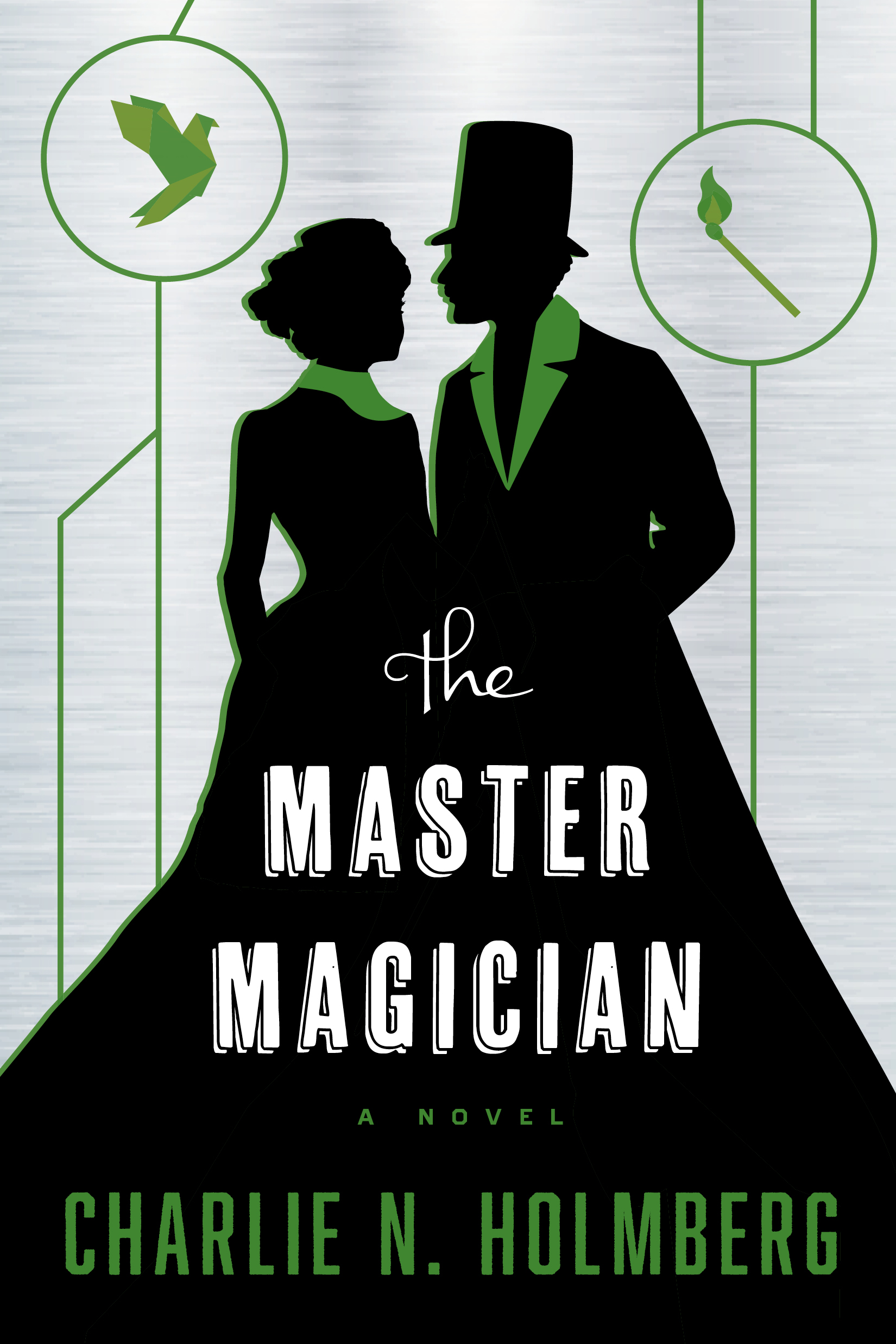 Cover for The Master Magician by Charlie N. Holmberg