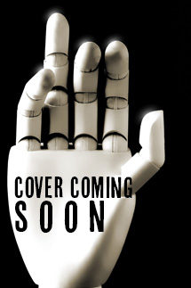 "A white plastic hand with the words ""Cover Coming Soon"" superimposed on it."